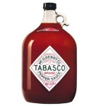 1 Gallon Tabasco Jug