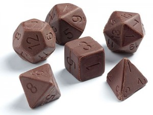 chocolate-dice
