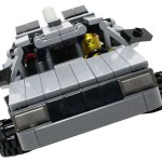 Custom LEGO DeLorean
