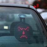 Car LED Emoticon