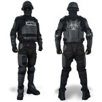 Full Body Riot Control Suit