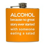 Alcohol Excuse Flask