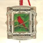 George Bush Painting Ornament