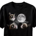 Grumpy Cat Moon Shirt