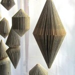 Hanging Book Sculptures