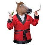 Horse Mask and Jacket