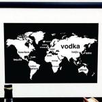 International Booze Print