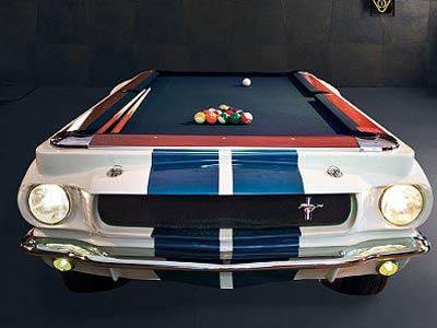 Mustang Pool Table Mewanty